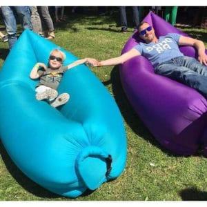 Inflatable sofa hammock