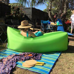 inflatable hammock loungecloud
